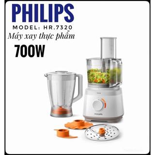 Máy xay đa năng Philips HR7320 700W, xay sinh tố, xay thịt, xay thực phẩm khô thumbnail