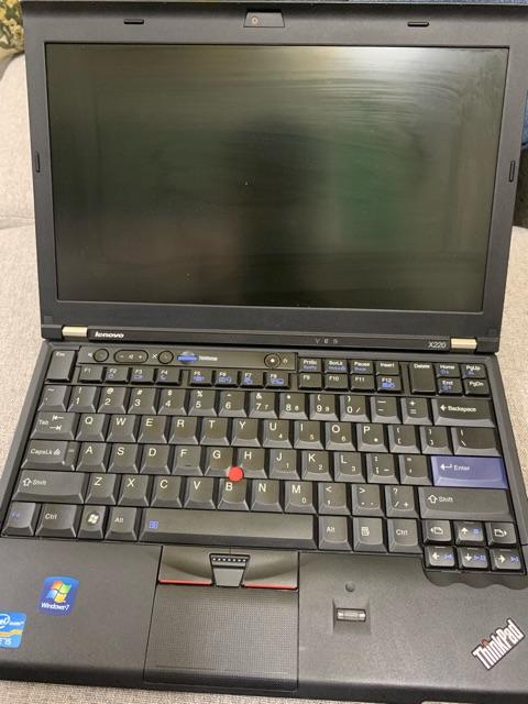Laptop Lenovo Thinkpad X220 nhỏ gọn, hiệu năng mạnh mẽ  - Core i5 ram 4gb ổ cứng 128gb ssd đời cao