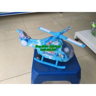 Máy bay xanh đèn
