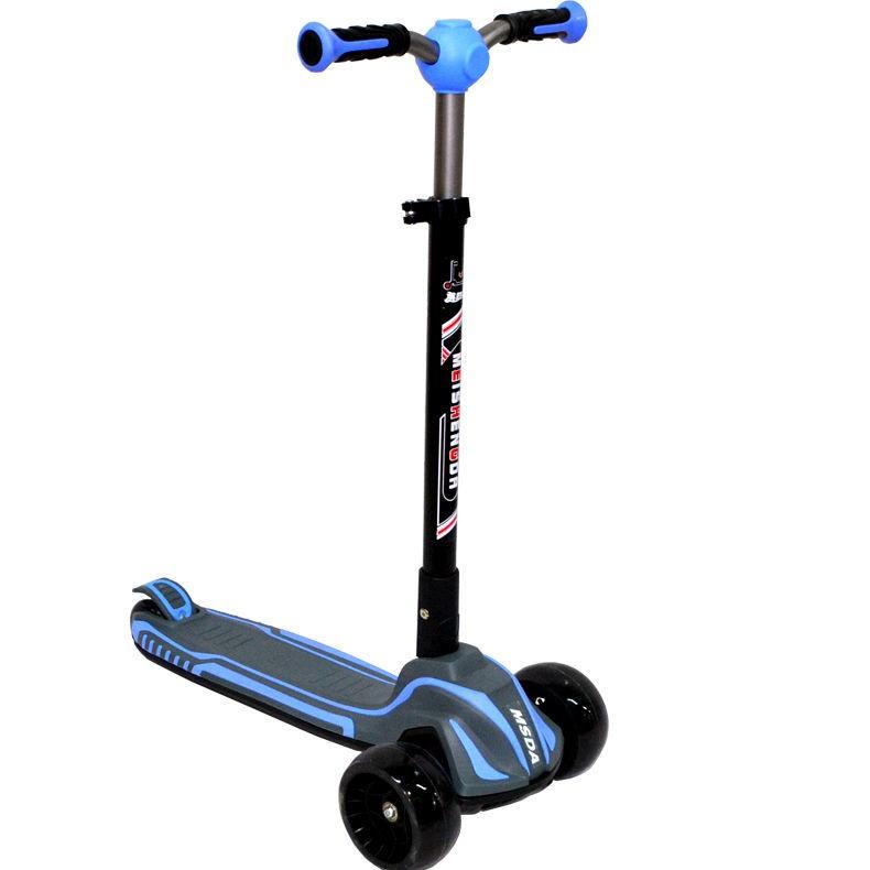 Mei Shengda 508 xe trượt siêu lớn dành cho trẻ em, bé có cầu 1 chân và cân bằng bàn đạp 3-6-8-12 tuổi sẵn