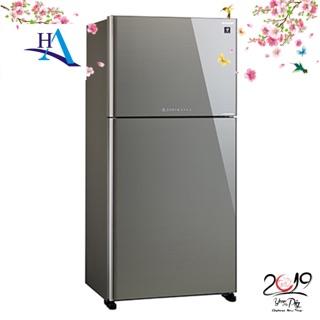 Tủ lạnh Inverter Sharp SJ-XP650PG-SL 600 lít