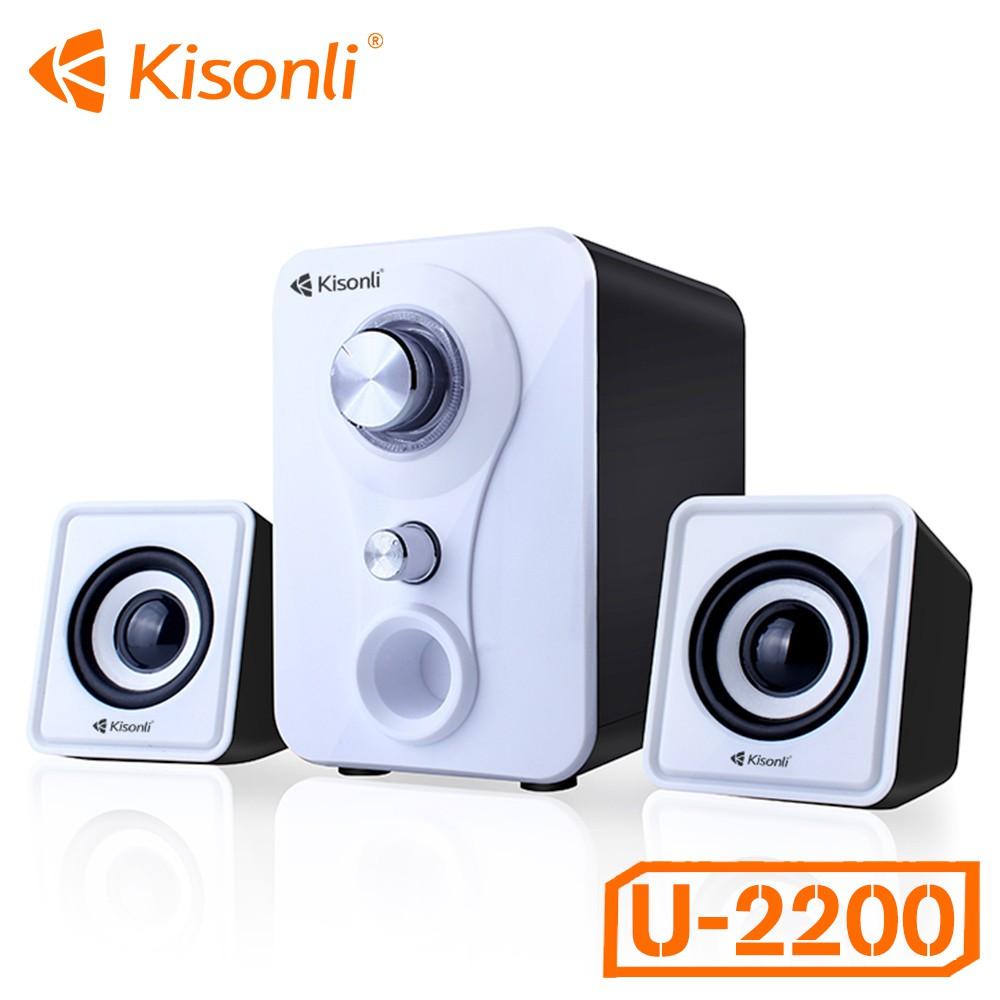 Loa Vi Tính Kisonli U-2200 2.1 (Màu ngẫu chỉ 170.000₫