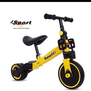 2 in 1 (Xe đạp ba bánh+ xe thăng bằng)