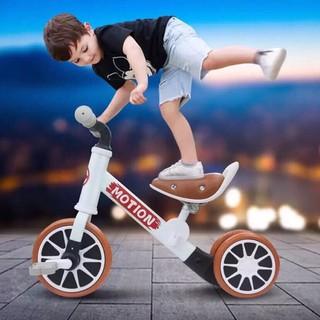 Xe chòi chân kết hợp xe đạp monitor – yên da, đệm êm