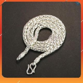 ⚡ KHUYỄN MÃI ⚡ Dây chuyền bạc nam, vòng cổ nam bạc nguyên chất DCK0005 – Trang Sức TNJ