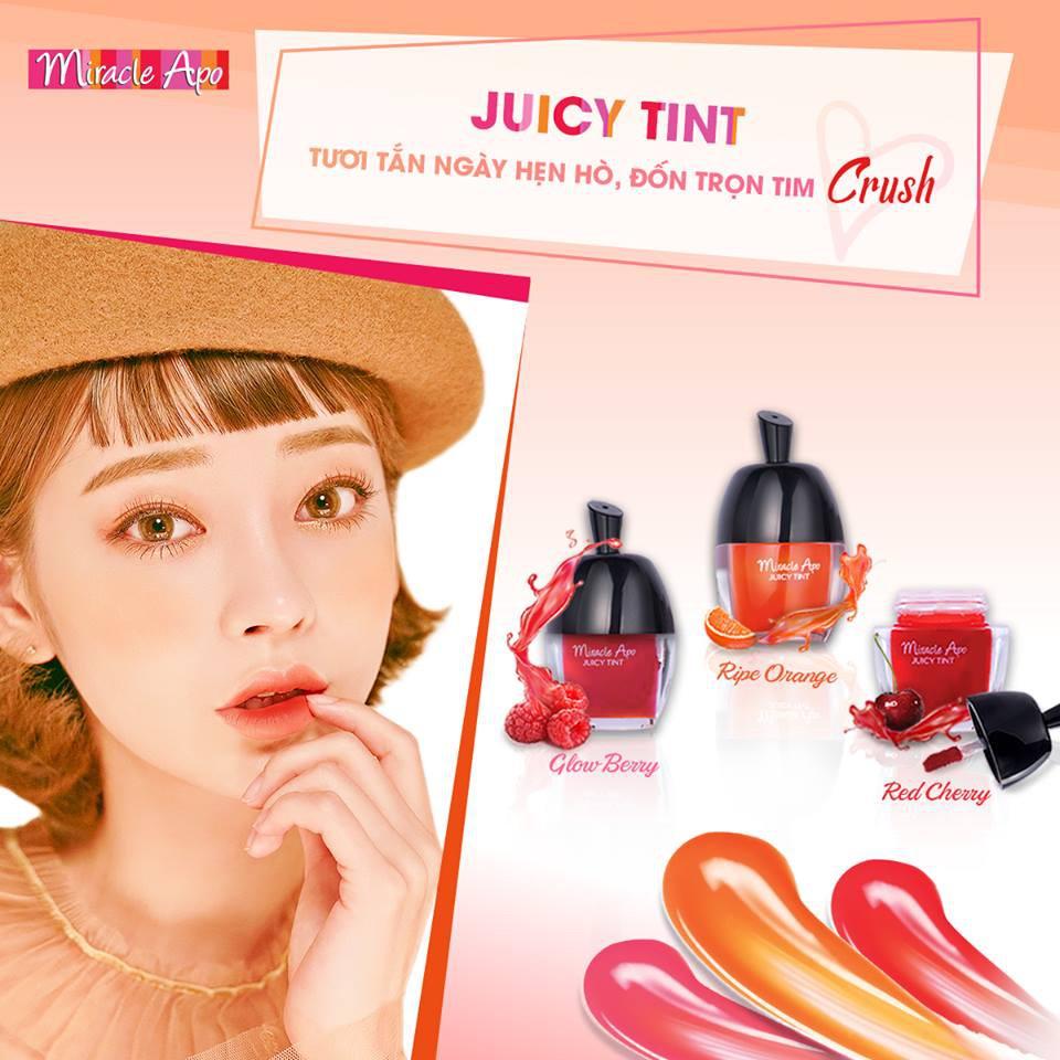 Son nước Miracle Apo Juicy Tint 3.5g