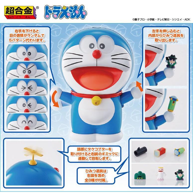 Doremon Đồ Chơi - Robot Đồ Chơi Doraemon Có Thể Thay Đổi Biểu Cảm Và Lấy Bảo Bối (RB6608)