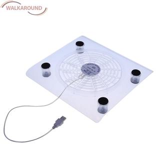 Quạt Tản Nhiệt Có Đèn Led Cổng Usb Cho Laptop / Pc / Notebook