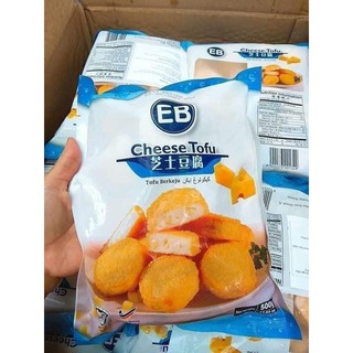 [Xã Kho] Cá Viên Đậu Hủ Phô Mai EB Cheese Tofu Malaysia