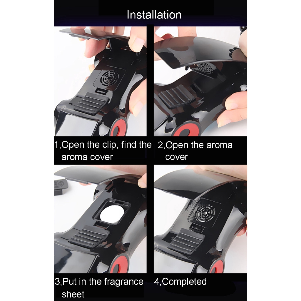 360 Rotary Sports Car Phone Holder Car Model Stand Aromatherapy Decoration