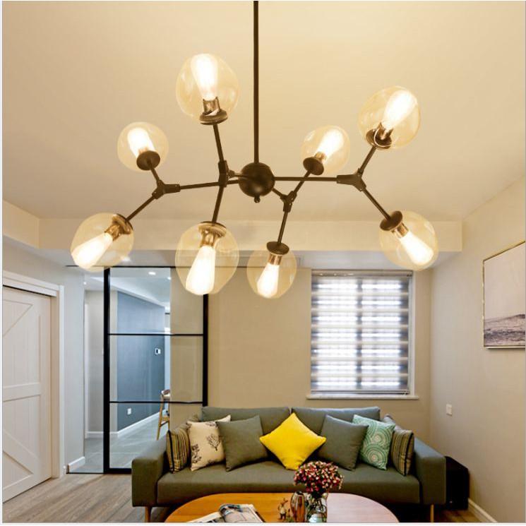 Đèn chùm thả RIO TOURFANG 8 bóng - 10 bóng cao cấp đặc biệt sang trọng trong không gian phòng khách,sảnh khách sạn