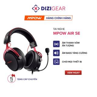 Tai Nghe Gaming MPOW Air SE BH439A Âm Thanh Vòm 360 Độ, Mic Chống Ồn, Đệm Da Cao Cấp OverEar thumbnail