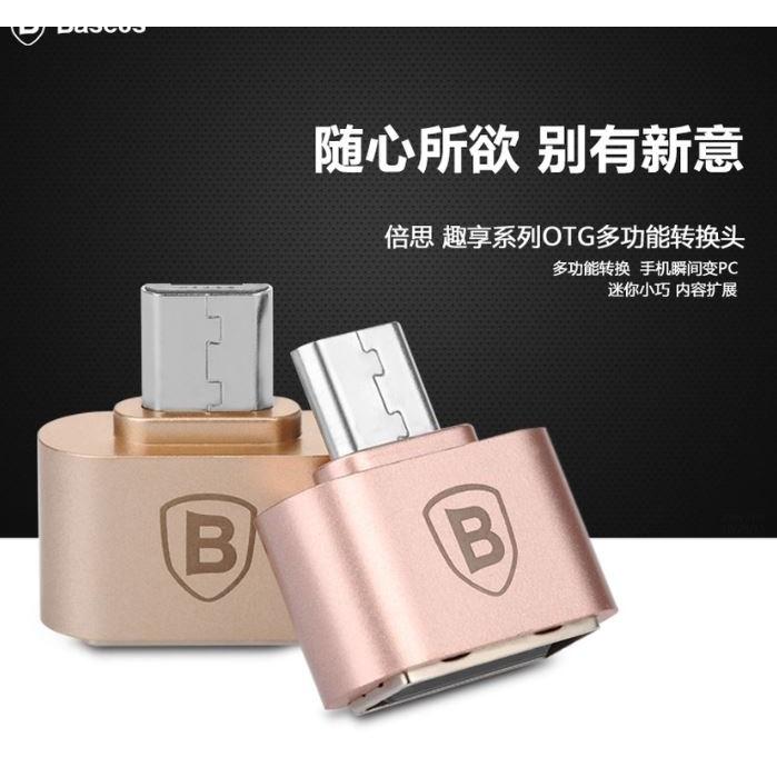 Cáp OTG chân Micro USB hiệu Baseus