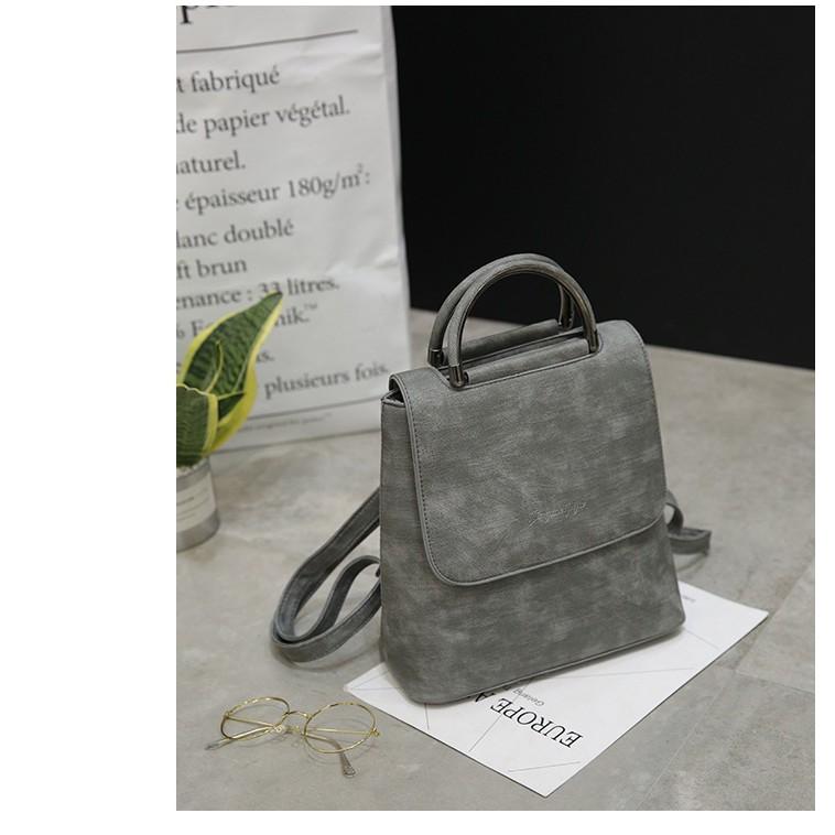 [2 TRONG 1] Balo/Túi Xách Triiny Stunning Bag   Vừa làm balo, vừa có thể làm túi xách - đi học đi làm đi chơi đều tiện
