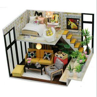 Mô hình nhà gỗ búp bê dollhouse DIY – M031 Cynthia's Holiday