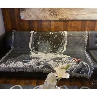 Thảm treo tường họa tiết vintage chăn trải shopha chống bụi, phong cách boho vintage freestyle