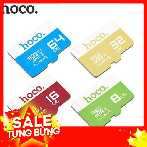 Sale Thẻ nhớ Micro SD Hoco 64Gb - Xanh Mây Freeship