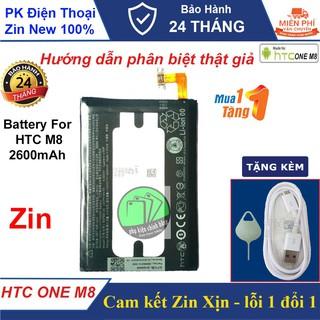 Pin HTC One M8 ( 2600mAh) Chính hãng - Cam kết Chuẩn Xịn - Tặng cáp thumbnail