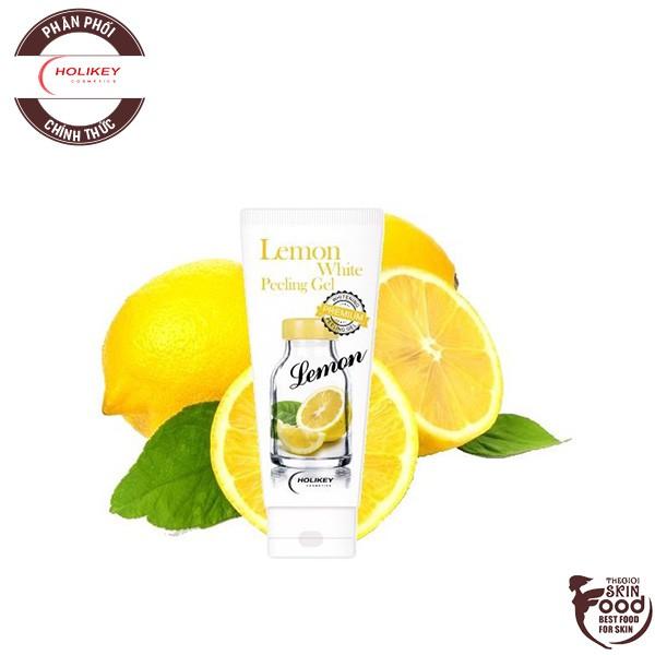 Gel Tẩy Tế Bào Chết Làm Trắng Và Cung Cấp Vitamin C Holikey Lemon White Peeling Gel