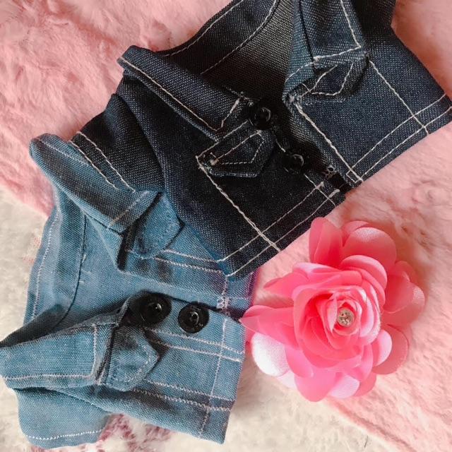 Áo khoác jean doll-15cm và 20cm