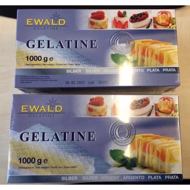 [Bán lẻ 4 lá ] Gelatine lá