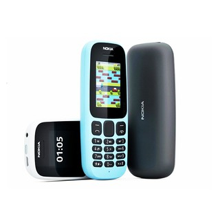 [ Khuyễn Mãi ] ĐIỆN THOẠI NOKIA 105 Chính hãng – Bảo hành 12 Tháng – Nokia 105 – Phụ Kiện : Máy , Sạc, Pin