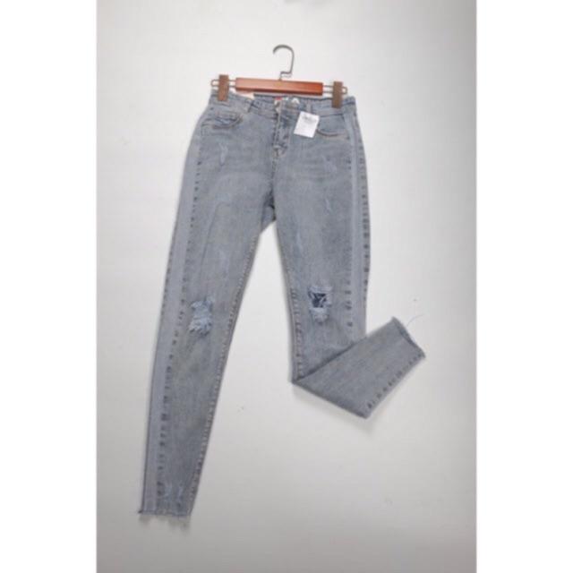 Quần jeans xước gối 2682