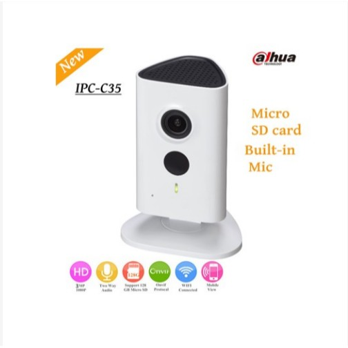 CAMERA IP WIFI DAHUA IPC-C35P (3.0 MEGAPIXEL)