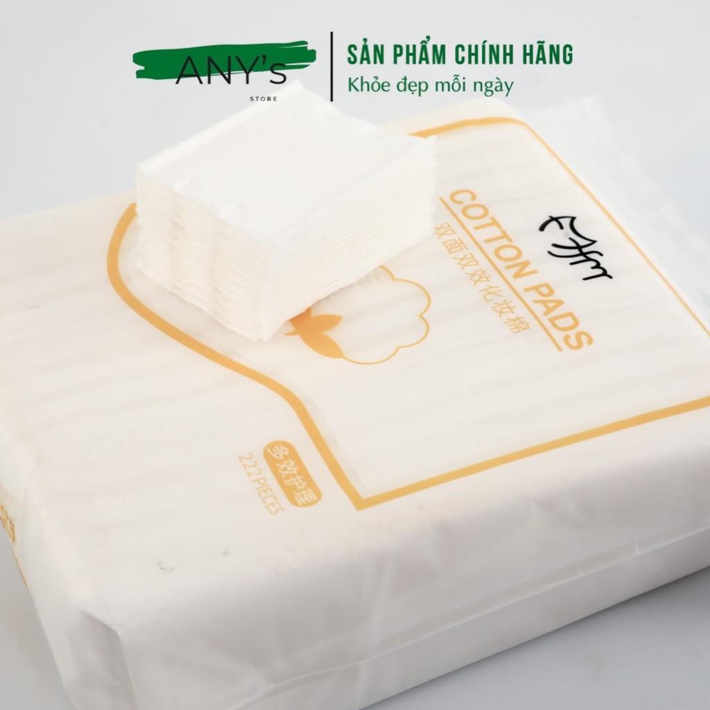 Bông Tẩy Trang 3 Lớp Cotton Pads 222 miếng
