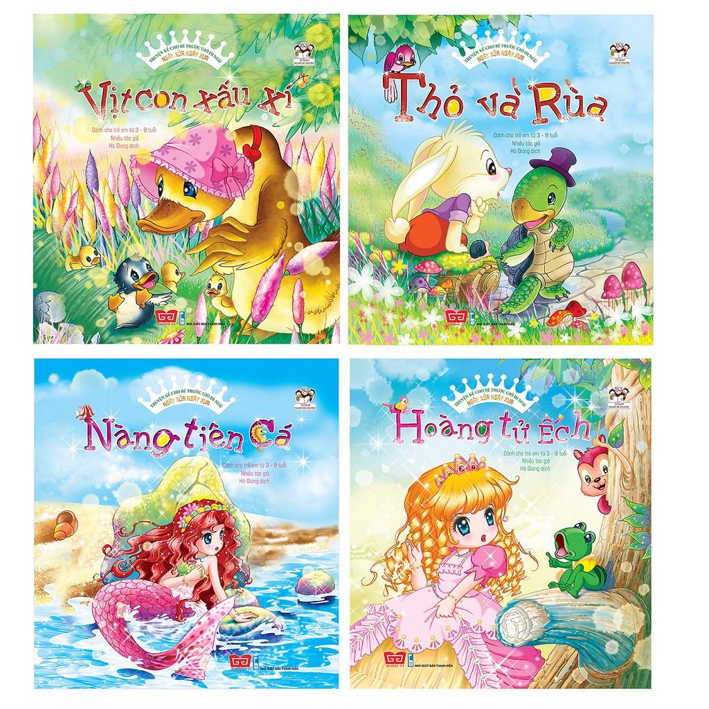 Sách - Combo 10 Cuốn Truyện Kể Cho Bé Trước Giờ Đi Ngủ - Ngày Xửa Ngày Xưa