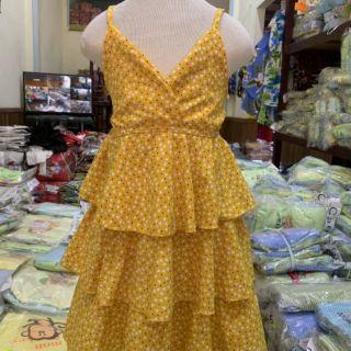 Com bo 2 váy kèm váy kèm váy thô cho bé gái c hồng ng