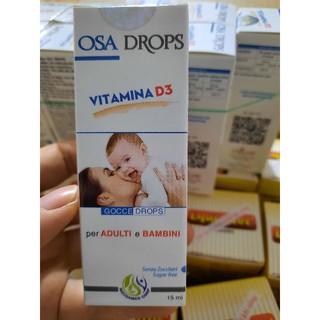 OSA DROPS Vitamin D3