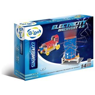 Hộp Gigo toys Khám phá điện năng 14 chủ đề 110 chi tiết nhiều màu 7059R