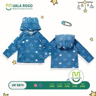 Áo khoác có mũ họa tiết mây ualarogo UR3874
