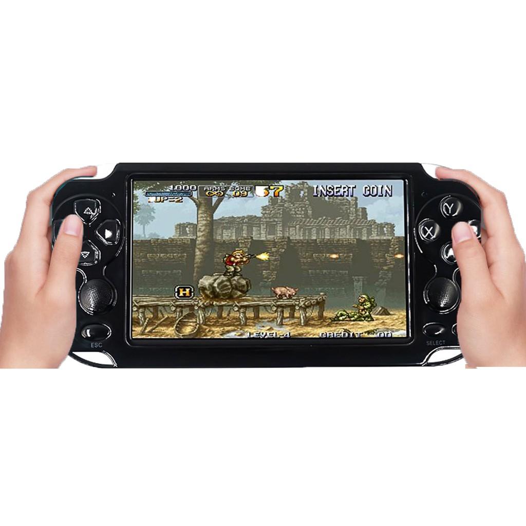 Máy chơi game cầm tay X9s - bộ nhớ 16g có sẵn 3000 game kèm link tải hơn 3000 game