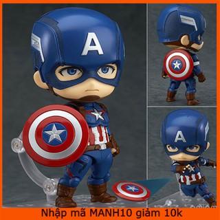 [Nhập mã MANH10 giảm 10K] Mô hình Captain America – Đội Trưởng Mỹ Avenger (Hộp FullBox)