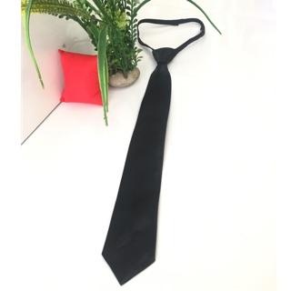 Cà vạt thắt sẵn – cavat nam bản nhỏ 5*35cm- cavat nữ