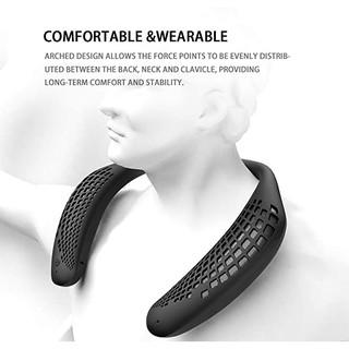Loa đeo cổ Bluetooth Oraolo, không dây, Loa cá nhân di động Chống nước IPX5, Mic tích hợp Bluetooth 5.0, hỗ trợ thẻ nhớ
