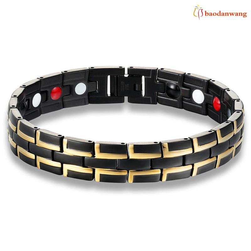 Vòng đeo tay bằng thép titan có từ tính bảo vệ cho nam - 13984280 , 2315682835 , 322_2315682835 , 247000 , Vong-deo-tay-bang-thep-titan-co-tu-tinh-bao-ve-cho-nam-322_2315682835 , shopee.vn , Vòng đeo tay bằng thép titan có từ tính bảo vệ cho nam