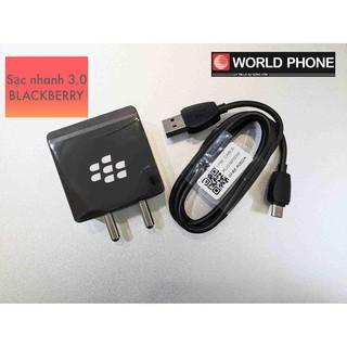[Mã ELFLASH5 giảm 20K đơn 50K] Sạc cáp nhanh 18W Blackberry chính hãng, Sạc BB Key2, Keyone, Evolve X