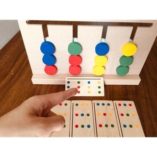 Bộ Montessori toán học tư duy logic