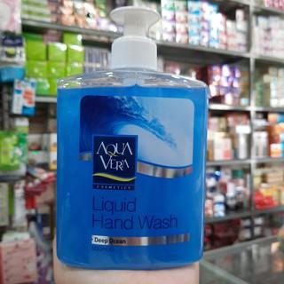 Nước rửa tay tinh chất nước biển sâu Aquavera 500ml thumbnail