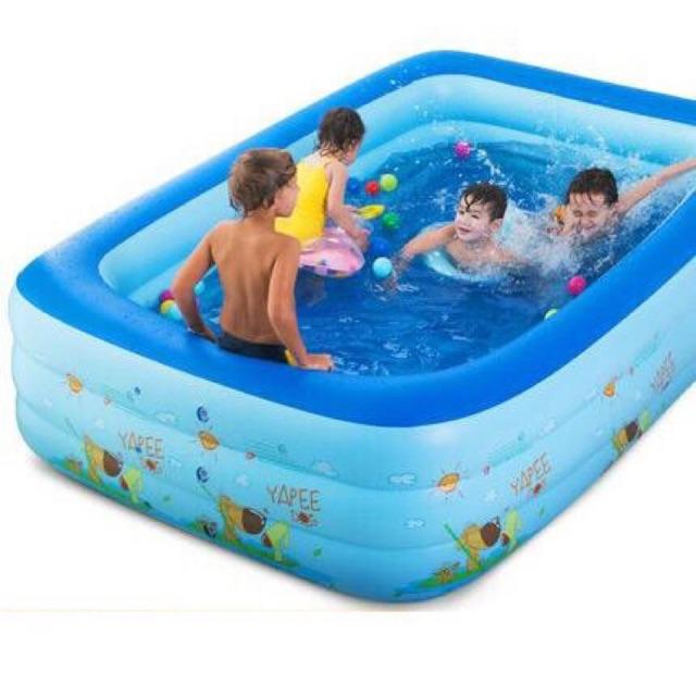 Bể bơi chữ nhật m2 2 tầng