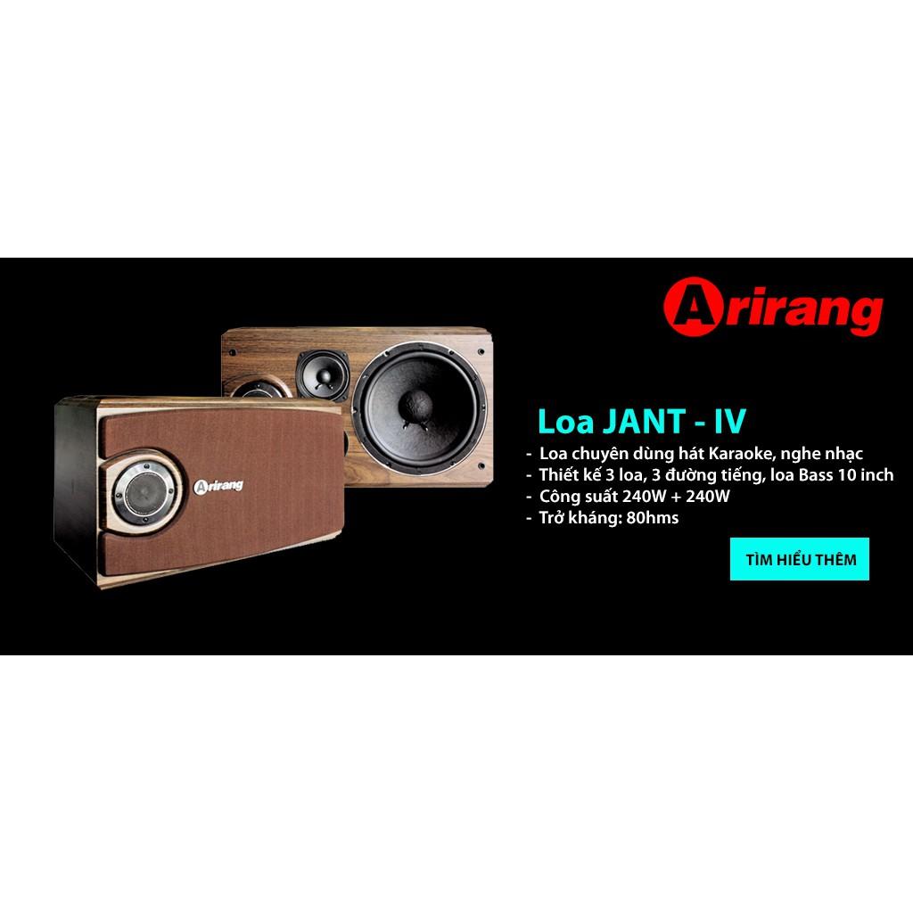 LOA KARAOKE ARIRANG JANT-IV_HÀNG CHÍNH HÃNG chính hãng 2,890,000đ