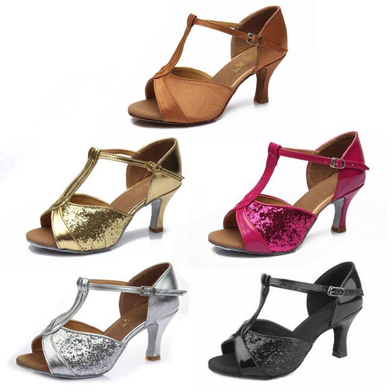 Giày khiêu vũ chuyên nghiệp dành cho nữ heeled 5CM/7CM