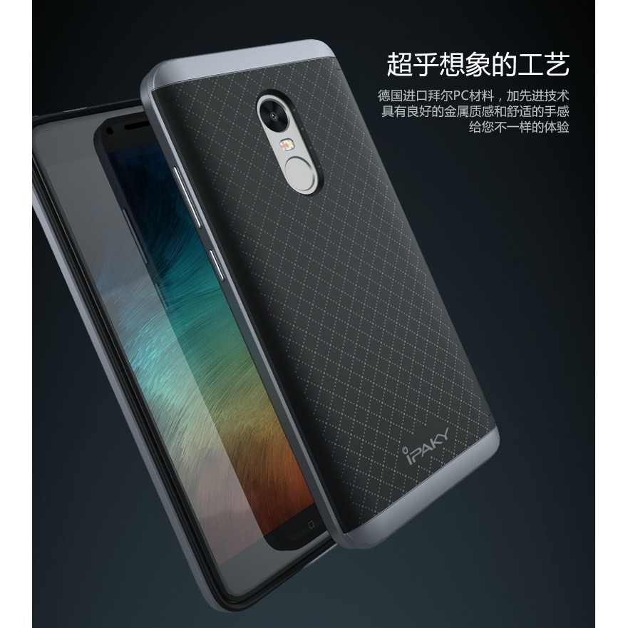 Xiaomi Redmi Note 4X - Ốp Chống Sốc Ipaky Chính Hãng