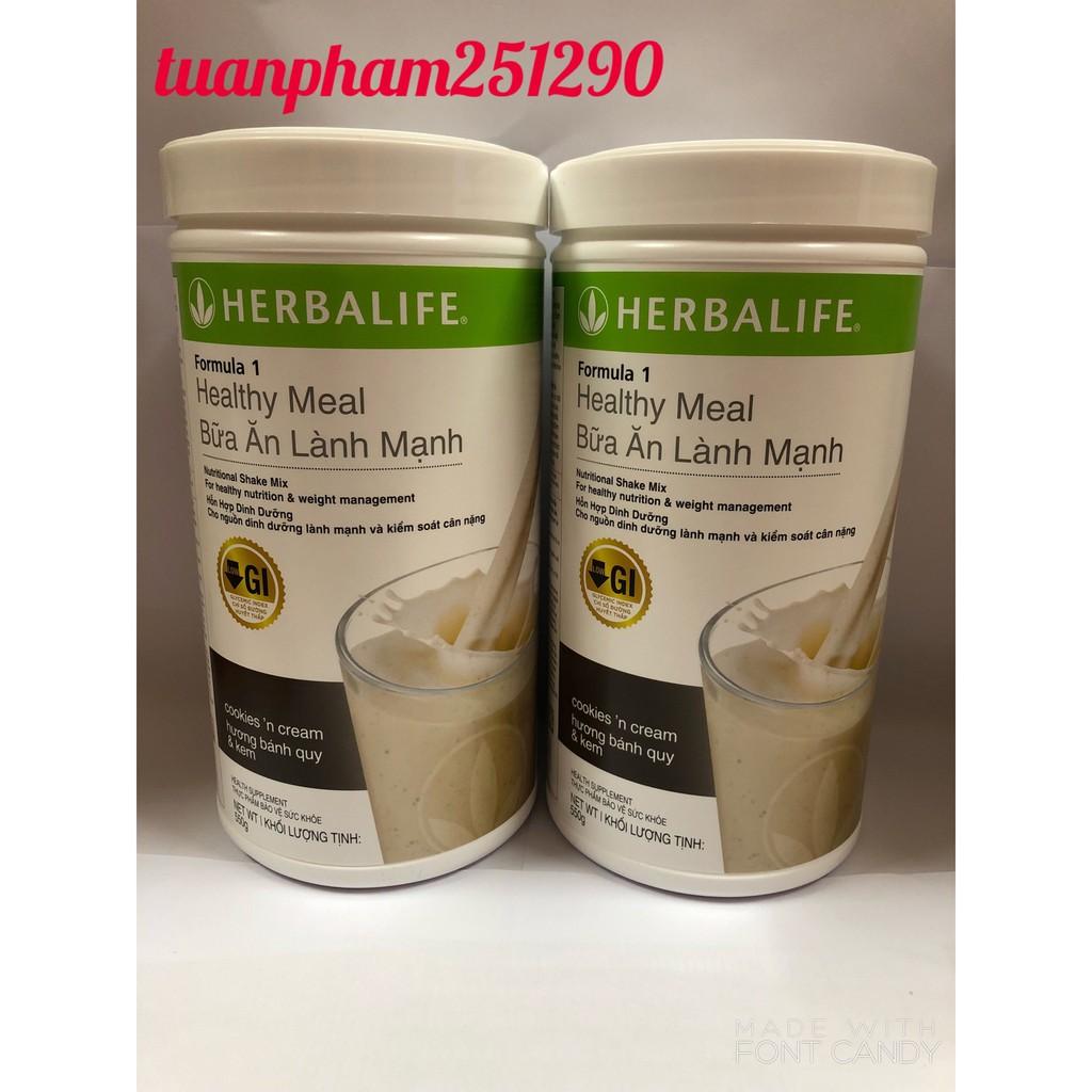 [COMBO 2 Hộp] F1 Herbalife, (Bữa ăn lành mạnh Herbalife), (Sữa giảm cân Herbalife)