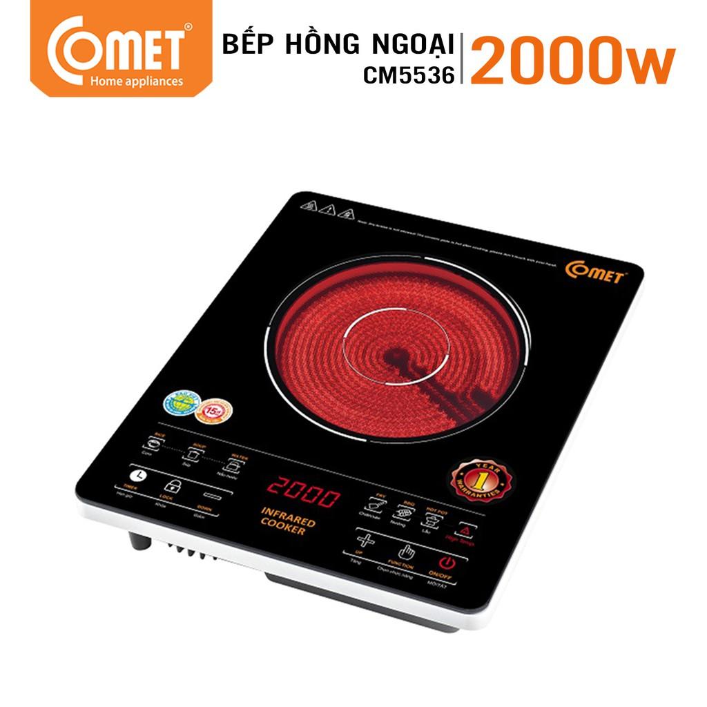 Bếp hồng ngoại Comet CM5536 - 2000w