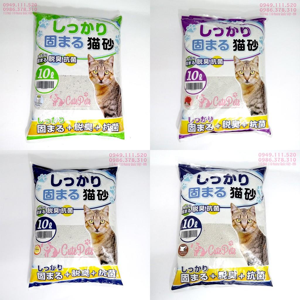 Cát vệ sinh Nhật Bản Cat Litter 10L dành cho mèo - CutePets Phụ kiện thú cưng Pet Shop Hà Nội - 3441207 , 819671059 , 322_819671059 , 109000 , Cat-ve-sinh-Nhat-Ban-Cat-Litter-10L-danh-cho-meo-CutePets-Phu-kien-thu-cung-Pet-Shop-Ha-Noi-322_819671059 , shopee.vn , Cát vệ sinh Nhật Bản Cat Litter 10L dành cho mèo - CutePets Phụ kiện thú cưng Pet Shop H