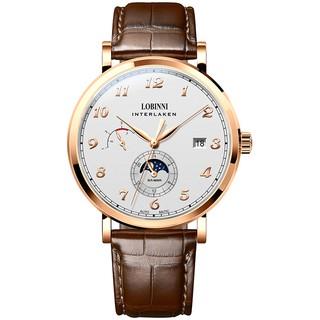 [Mã FARSBR153 giảm 15% đơn 150K] Đồng hồ nam Lobinni No.6009-1